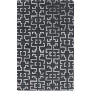 Mugal Area Rug - Charcoal/Gray 5' x 8'