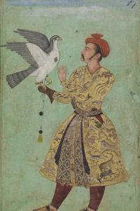 Prince With a Falcon, c.1600-5 by Mughal School
