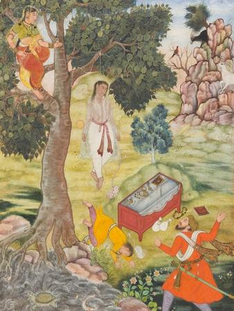 Tale of the Cunning Siddhikari, c.1590