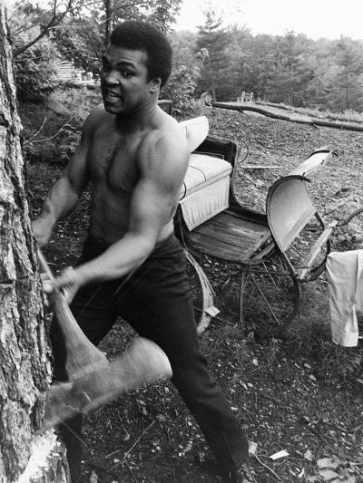 Muhammad Ali - 1974-Leroy Patton-Photographic Print