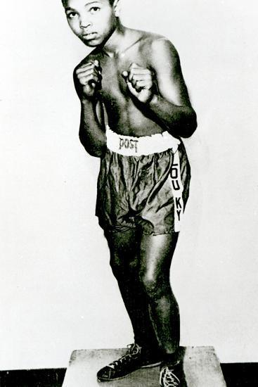 Muhammad Ali, Aged 12--Photographic Print