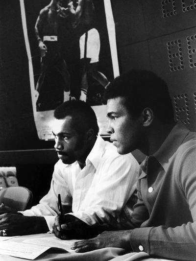 Muhammad Ali and Ken Norton, March of 1973-Ted Williams-Photographic Print