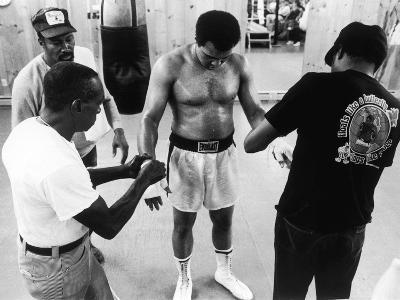 Muhammad Ali; Drew Bundini Brown - 1978-Vandell Cobb-Photographic Print