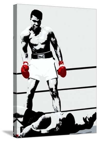 Muhammad Ali: Gloves--Stretched Canvas Print