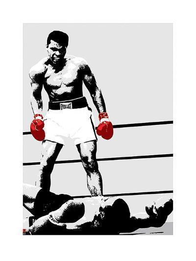 Muhammad Ali (Gloves)-Unknown-Art Print