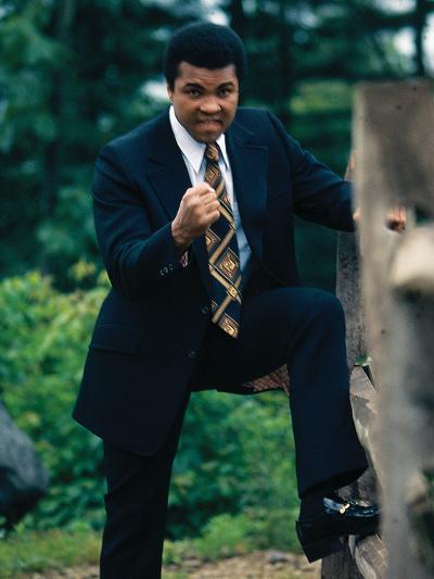 Muhammad Ali, Training Camp, July 1974-Leroy Patton-Photographic Print