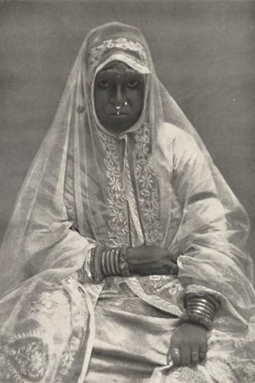 'Muhammedanerin', 1926-Unknown-Photographic Print
