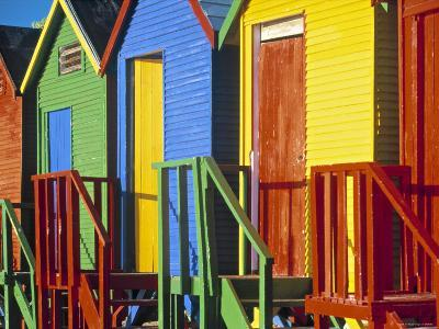 Muizenburg, False Bay, Cape Town, South Africa-Peter Adams-Photographic Print