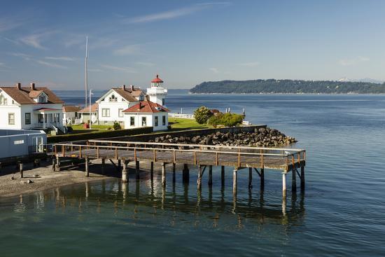 Mukilteo Lighthouse, Mukilteo, Washington, USA-Michele Benoy Westmorland-Photographic Print