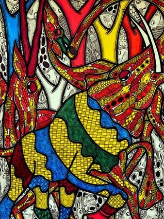 Elephant World by Muktair Oladoja