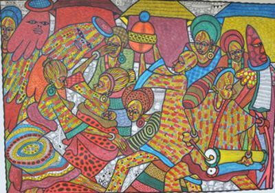 market1 by Muktair Oladoja