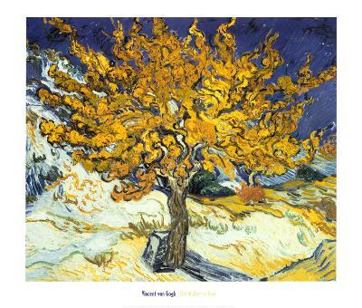 Mulberry Tree, c.1889-Vincent van Gogh-Art Print