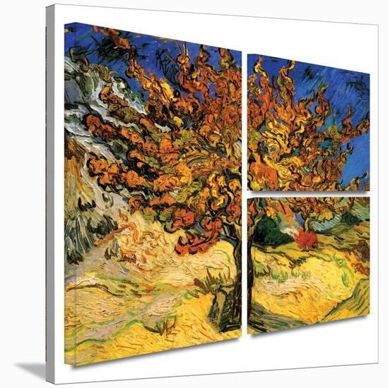 Mulberry Tree Gallery-Wrapped Canvas-Vincent van Gogh-Gallery Wrapped Canvas Set
