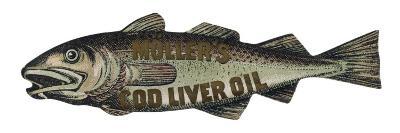 Muller's Cod Liver Oil--Giclee Print