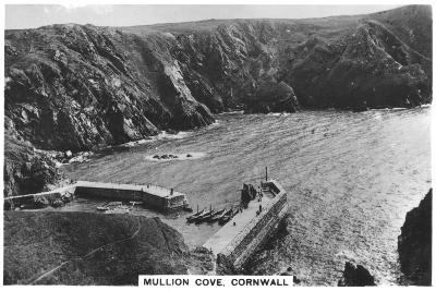 Mullion Cove, Cornwall, 1936--Giclee Print