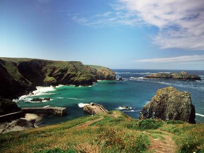 Mullion Cove in Cornwall--Photographic Print