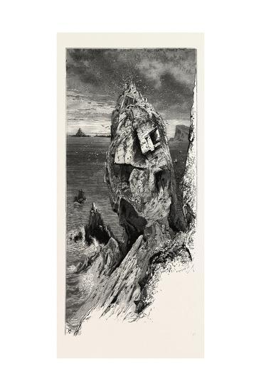 Mullion Gull Rock, the South Coast, UK, 19th Century--Giclee Print