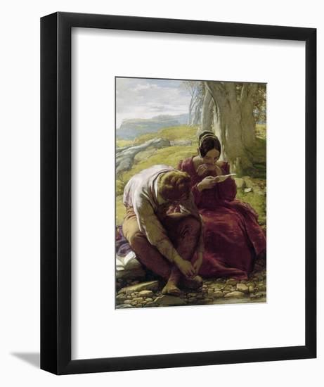 Mulready: Sonnet, 1839-William Mulready-Framed Giclee Print