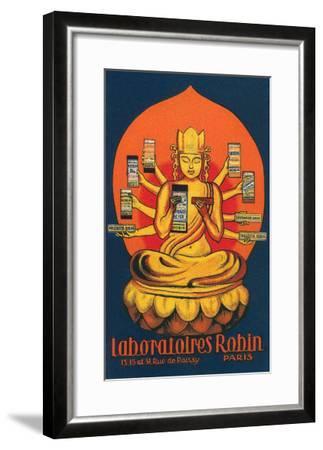 Multi-Armed Indian God--Framed Art Print