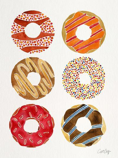 Multi Donuts-Cat Coquillette-Giclee Print