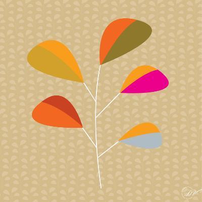 Multi Leaves - Solo-Dominique Vari-Art Print