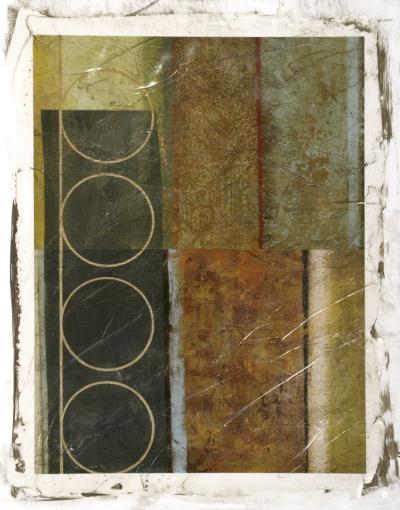 Multi-textured Abstract II--Giclee Print