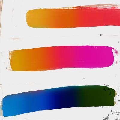 Multicolor Strokes-Kasi Minami-Art Print