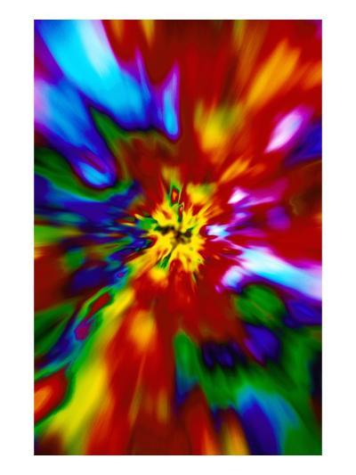 Multicolored Chaos--Giclee Print