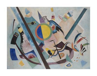 Multicolored Circle, 1921-Wassily Kandinsky-Art Print