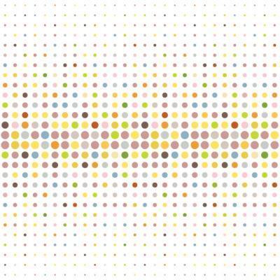 Multicolored Dot Background-katritch-Art Print