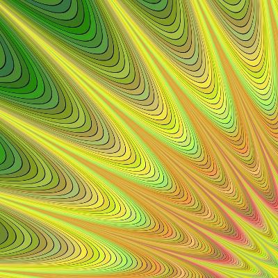 Multicolored Fractal Digital Art Design-David Zydd-Art Print