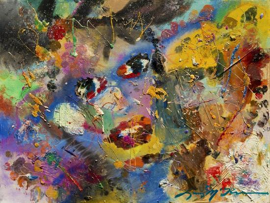 Multimedia Faces of You-Lucy P. McTier-Giclee Print