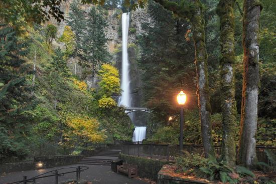 Multnomah Falls, Columbia River Gorge, Oregon, USA-Jaynes Gallery-Photographic Print