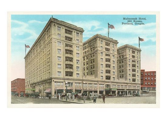 Multnomah Hotel, Portland, Oregon--Art Print