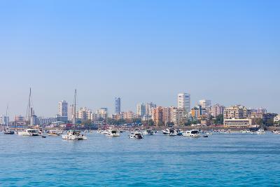 Mumbai Skyline-saiko3p-Photographic Print