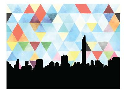 Mumbai Triangle--Art Print