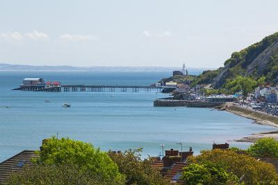 Mumbles Lighthouse, Mumbles Pier, Mumbles, Gower, Swansea, Wales, United Kingdom, Europe-Billy Stock-Photographic Print