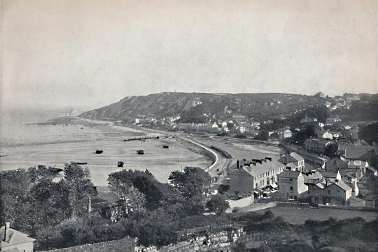 'Mumbles - The Town and the Bay', 1895-Unknown-Photographic Print