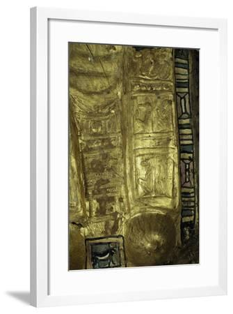 Mummy Uncovered in Tomb No 54, Valley of Golden Mummies, Bahariya Oasis, Giza, Egypt--Framed Giclee Print