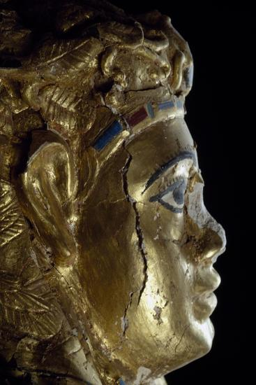 Mummy Uncovered in Tomb No 54--Giclee Print