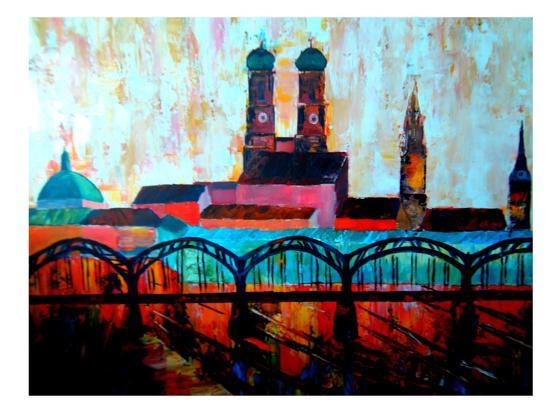 Munchen Central station-M Bleichner-Art Print