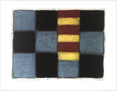 Munich 2.16.96-Sean Scully-Art Print