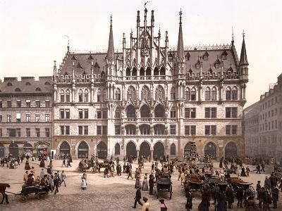 Munich City Hall, Pub. C.1895--Photographic Print