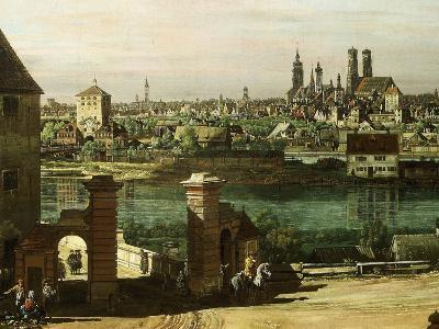 Munich, Germany, 1761 (Detail)-Bernardo Bellotto-Giclee Print