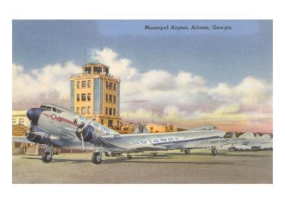 Municipal Airport, Atlanta, Georgia--Art Print