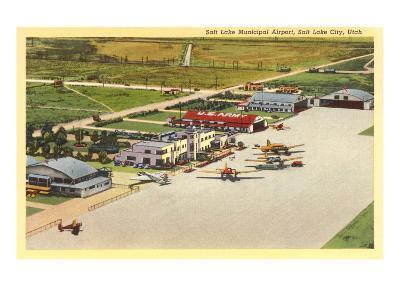 Municipal Airport, Salt Lake City, Utah--Art Print