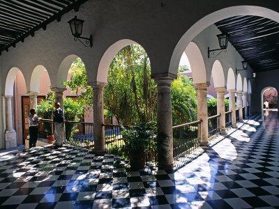 Municipal Hacienda, Merida, Yucatan State, Mexico-Paul Harris-Photographic Print