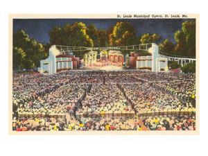 Municipal Opera, St. Louis, Missouri