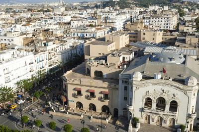 Municipal Theatre, Avenue Habib Bourguiba, Tunis, Tunisia, North Africa-Nico Tondini-Photographic Print
