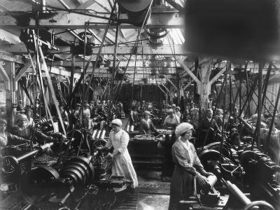 Munitions Factory, London, World War I, 1914-1918- Haua-Photographic Print